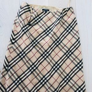 Burberry pattern Skirt